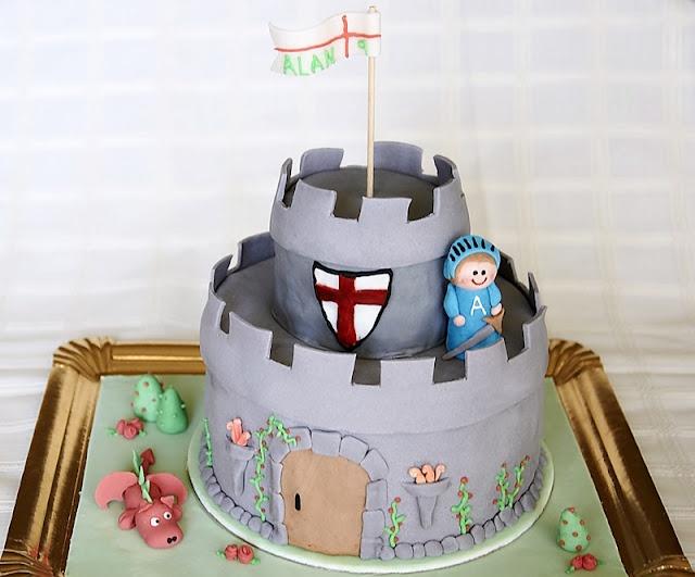 Sant Jordi. #cake #fondant