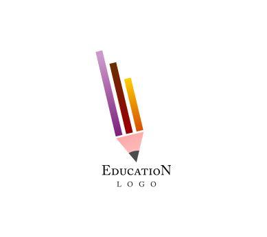 free pencil school education vector logo inspiration - Logo Design Ideas Free