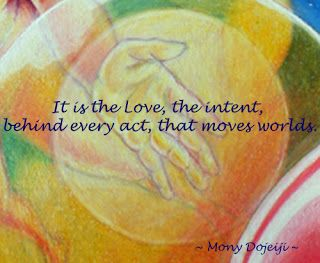"Mony's Blog: A Mony Moment...""A Living Example of the Light"""