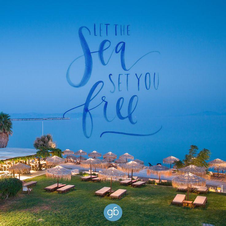 Let the sea... set you free! #goldenbeachhotel #goldenbeach #beach #paros #holidays #greece #hotel #toparos #alwayssummerhere