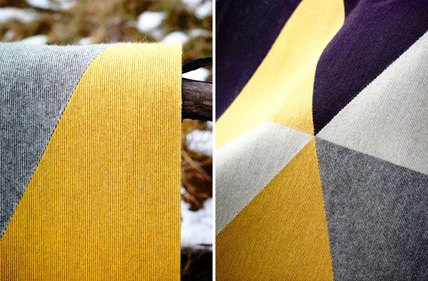 Fiona Lynch for Tretford 'Fields' Rug Collection. 'Jonquil' detail. // Available at Koskela.