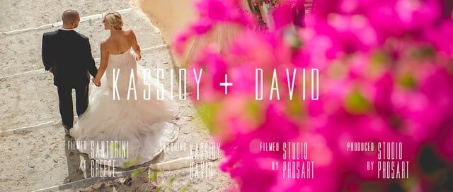 Wedding in Santorini | David & Kassidy | Wedding Short Film by Phosart