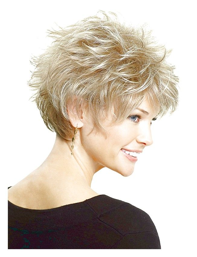 beautiful short spiky hairstyles