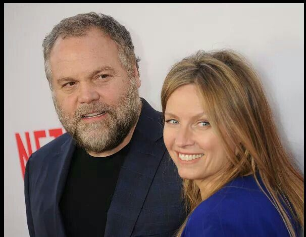 Vincent and his beautiful wife Carin van der Donk at the LA Premiere of Daredevil
