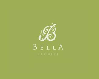 floral B #logo