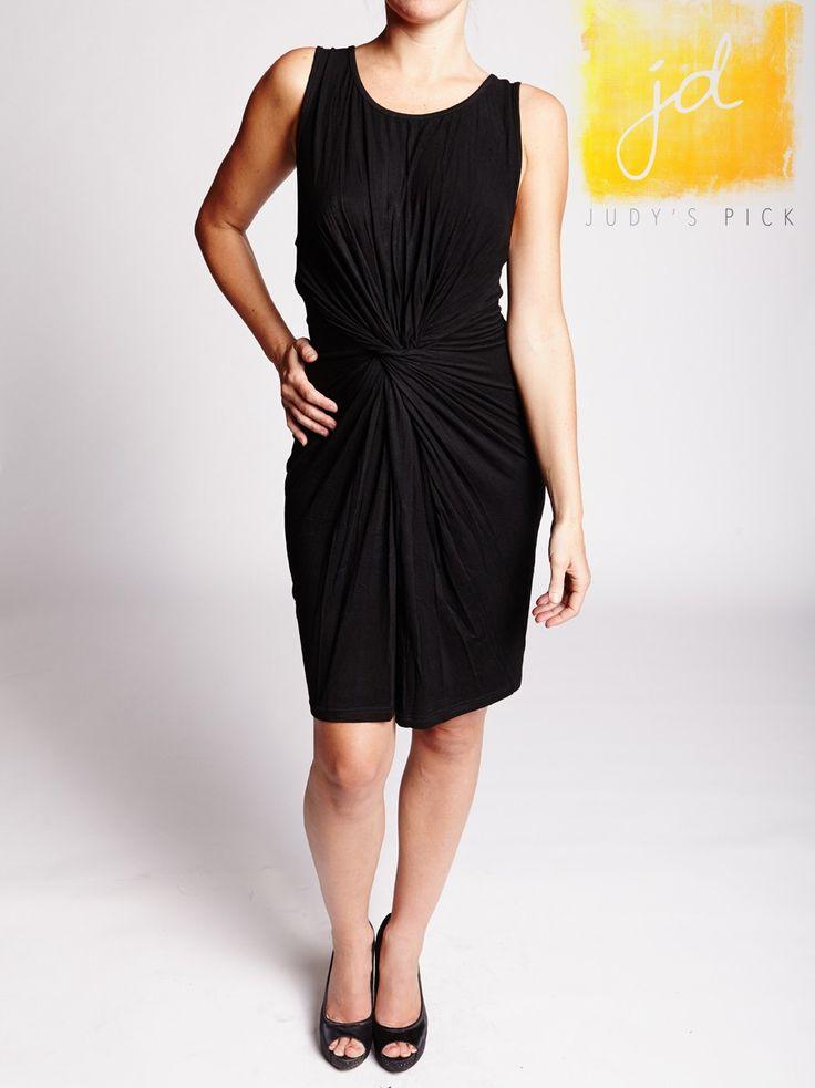 BRIDGET DRESS - BLACK  - Judy's Pick