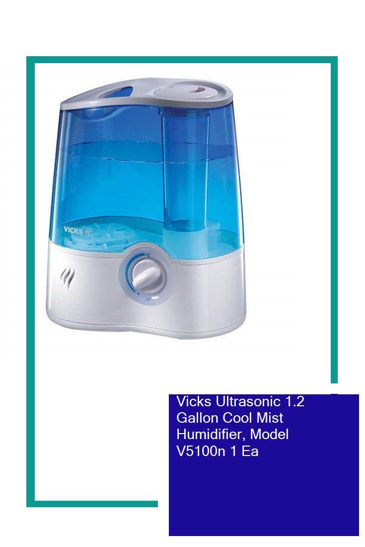 Vicks Ultrasonic Cool Mist Humidifier, Model V5100N