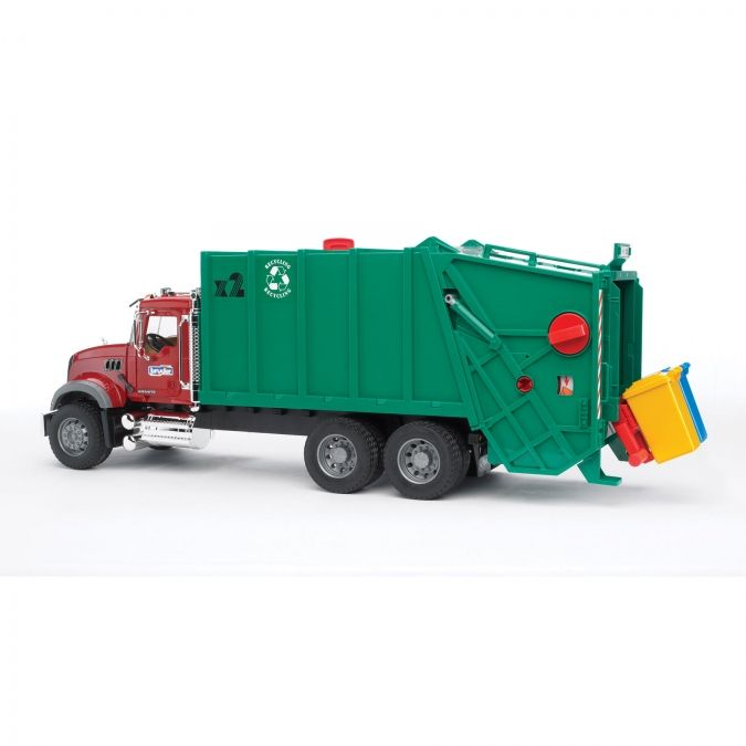 Bruder Mack Granite Garbage Truck Garbage Truck Toy Trucks Trucks