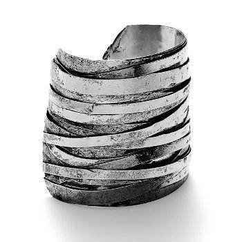 Silver Wire Cuff - wishlisted