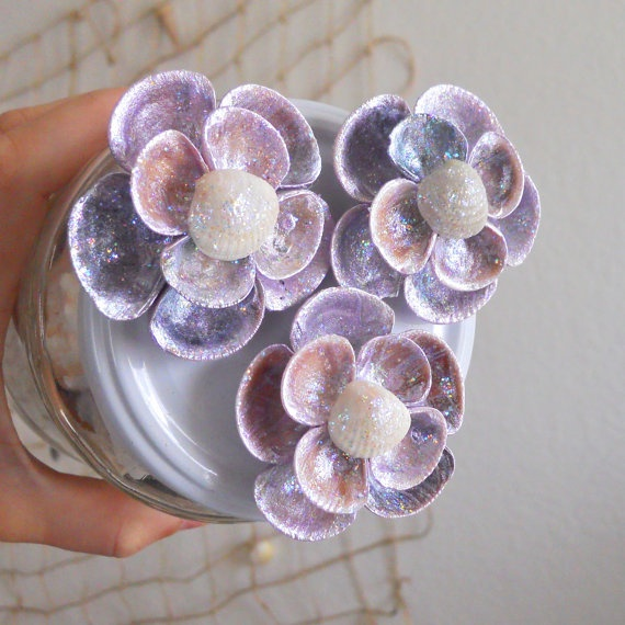 132 best seashell crafts images on pinterest seashell for Sea shell crafts
