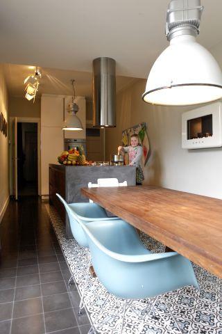Cement tiles - Project Erik Horsten - Kitchen
