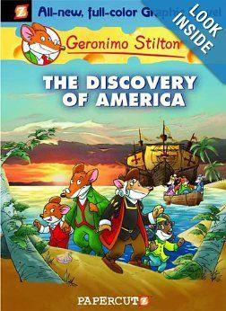 The Discovery of America (Geronimo Stilton #1): Geronimo Stilton: 9781597071581: Amazon.com: Books