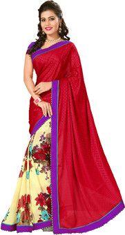 Aparnaa Self Design Embroidered Embellished Jacquard Sari: Sari, flipkart.com  MRP: Rs. 3,307 Rs. 1,488 55% OFF Selling Price (Free delivery)