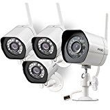 #5: Zmodo Smart Wireless Security Camera System- 4 Pack- HD Indoor/Outdoor WiFi IP Cameras with Night Vision Easy Remote Access  Cloud Service Available #FabOffers #FabBestSellers #Camera #Photography #Nikon
