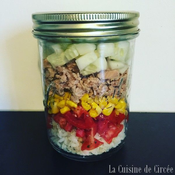 La salade en pot (salad in a jar) comment ça marche ?
