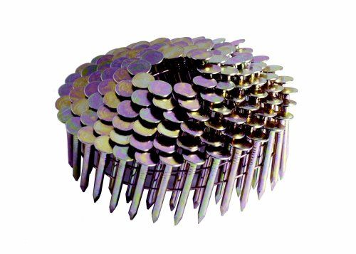 15 Electro Galvanized Smooth Shank Coil Roofing Nails
