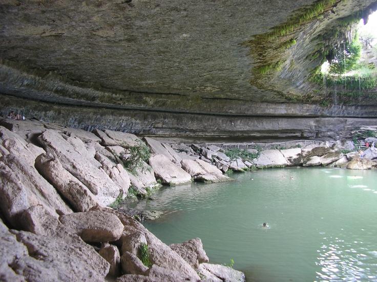 Hamilton Pool Nature Preserve Winter
