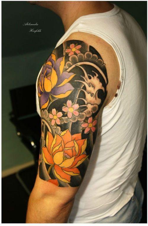Japanese short sleeve tattoos