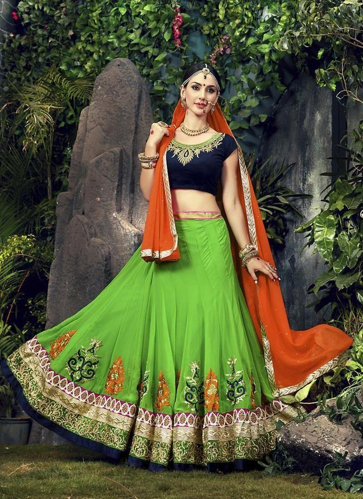 Choli Ethnic Pakistani Bridal Traditional wear Wedding Indian Lehenga Bollywood #KriyaCreation