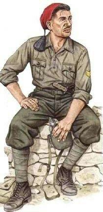 """Italian Army - Bersagliere Divisione Celere """"Eugenio di Savoia"""",Jugoslavia WW2…"""