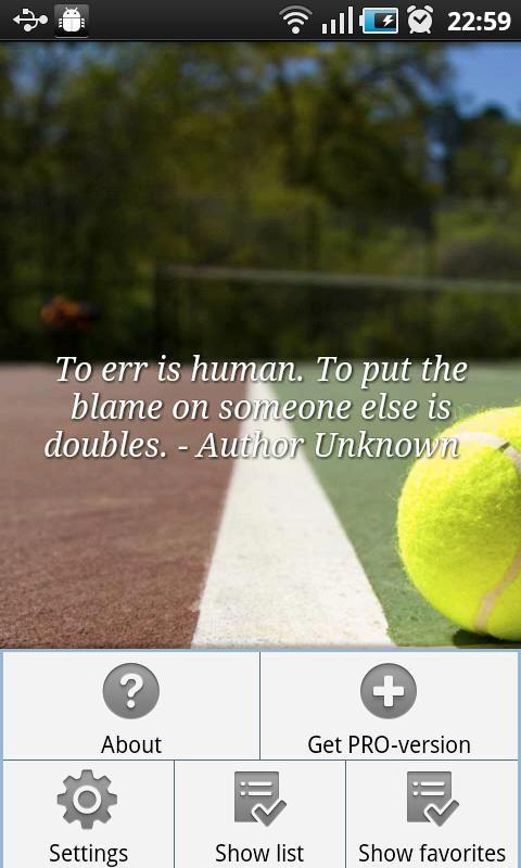 Tennis Quotes!