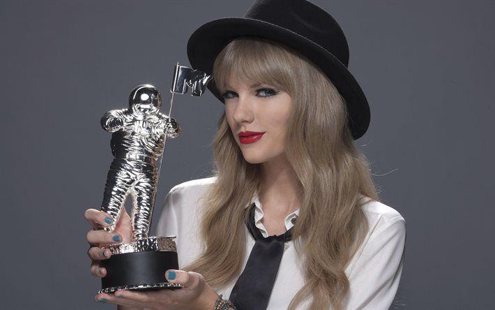 Taylor Swift, portrait, 4k, American singer, blonde, Taylor Alison Swift