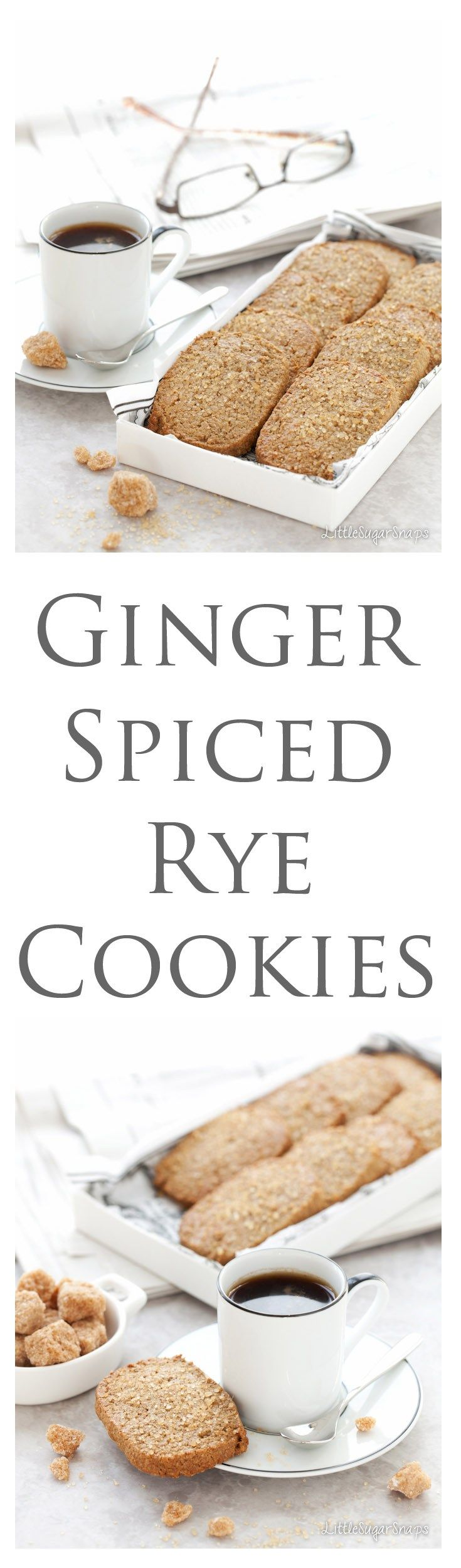 Ginger Spiced Rye Biscuits are guaranteed to put a smile on your face. These cookies have a modest appearance that gives way to robust, spicy flavours. Bakeable from frozen - they are the perfect standby.