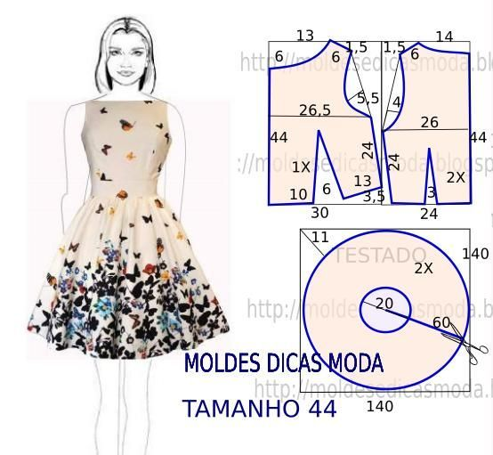 Easy dress Diy idea how to make tutorial sew pattern