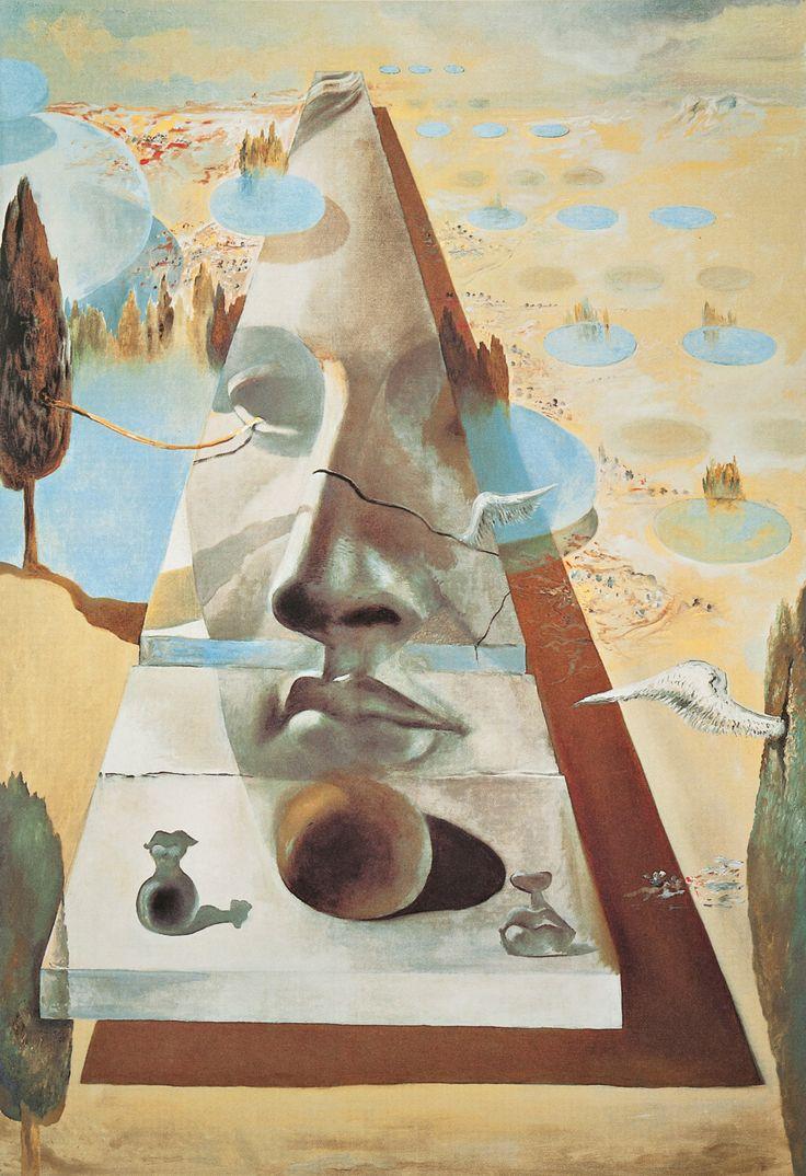 Aukció: 2016. december 1.: Dalí, Salvador; Az arc jelenése, 1981; színes litográfia, papír