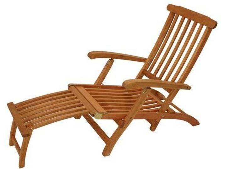 Gartenliege Maine Sun Lounger Reclining Sun Lounger Outdoor Chairs