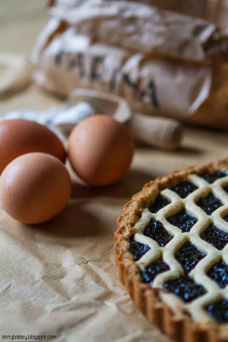 Kerry's Bakery: CROSTATA CON PASTA SABLE'