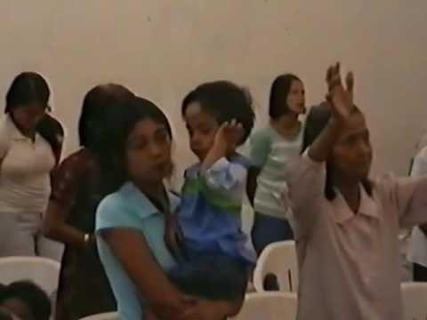 San Pedro Laguna- Solly worship leading Christmas 2006