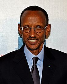 Paul Kagame - Wikipedia article.   Kagame is the 6th and current president of Rwanda