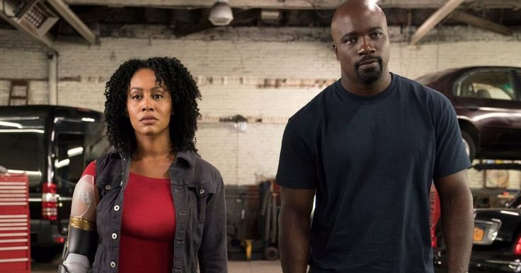Misty Knight's Bionic Arm Revealed in Luke Cage Season 2 -- Get your first look at Mike Colter and Simone Missick on the set of Luke Cage Season 2, as shooting continues. -- http://tvweb.com/luke-cage-season-2-misty-knight-bionic-arm-photo/