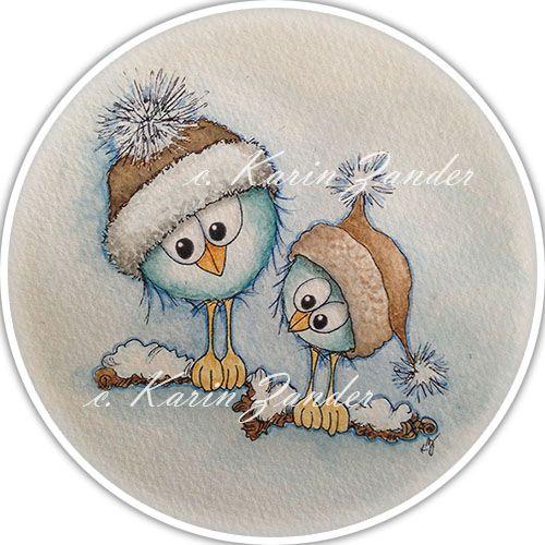 Kajsansscrapblog: ♥ New release of birdie digi stamps ♥
