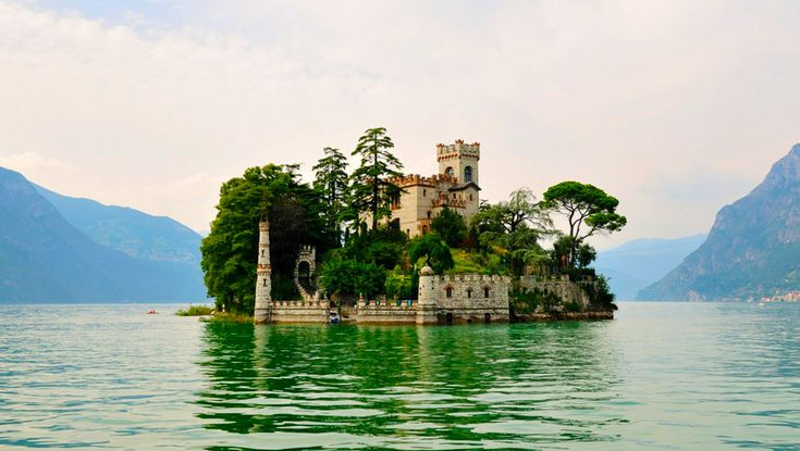 Isola di Loreto, Lombardy -20 real life fairy tale places in Italy