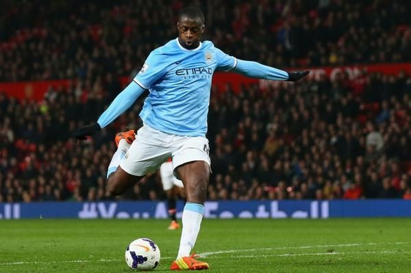Manchester City without Yaya Toure: 6 games 0 wins 1 draw 5 losses