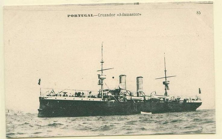 NRP Adamastor was a cruiser in the Portuguese Navy. She was built in Italy using the revenue of a national subscription made after the British ultimatum to Portugal in 1890. She played an important role in the 5 October 1910 republican revolution, being one of the three rebelling cruisers. In 1916 the Adamastor was one of two cruisers sent to Quelimane in Portuguese East Africa.
