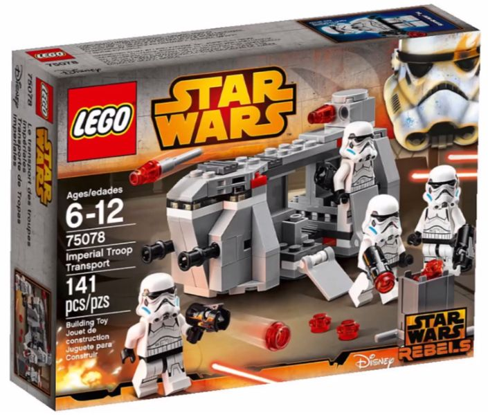 Lego 75078 Imperial troop transport