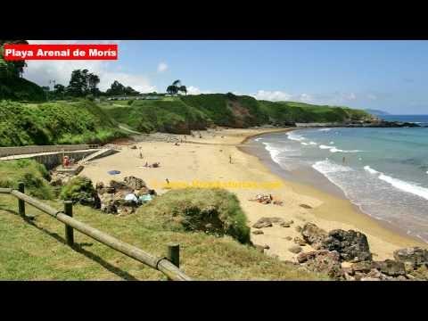 Playas Asturias: Playa Arenal de Morís