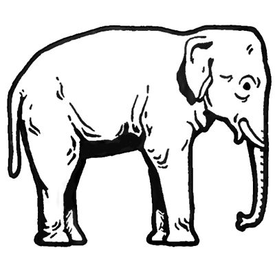 Indian Elephant Line Drawing 71 best images about E...