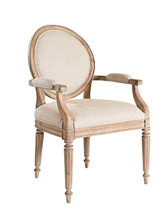 Buy Meredith O'Donnell Hailey Arm Chair by Meredith O'Donnell - Sample designer Furniture from Dering Hall's collection of Traditional Armchairs & Club Chairs.