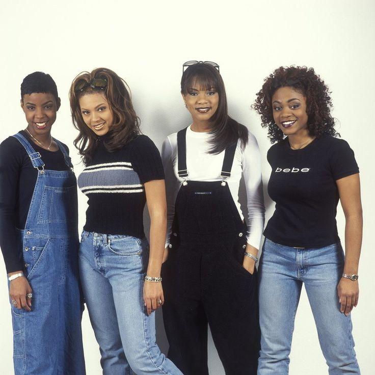 9 trendów z lat 90-tych - ogrodniczki koszula w kratę martensy Beyoncé lol