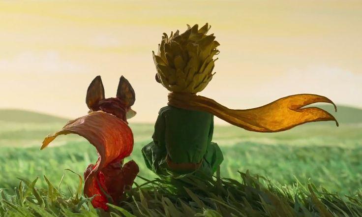 """animação """"o pequeno principe"""" 2015"""