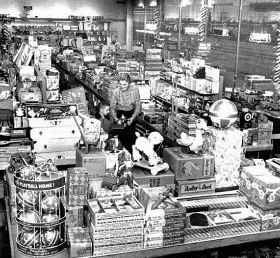 Toyland Department Store 1951