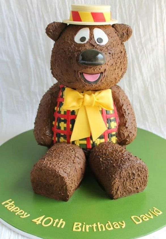HUMPHREY BEAR CAKE BY QUEEN OF CAKES, CAKE APPRECIATION SOCIETY MEMBER