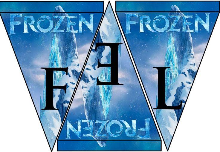 Banderin Frozen