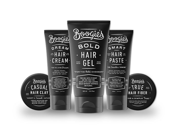 Boogie's hair care #packaging