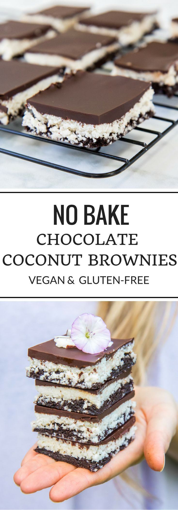 These no bake chocolate coconut brownies are a favourite in my household! Not…