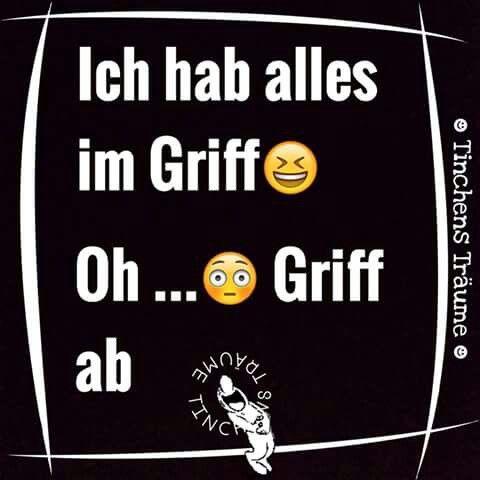 Griff ab...
